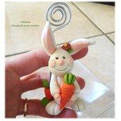 Segnaposto coniglio- coniglietta pasquale, regalo Pasqua