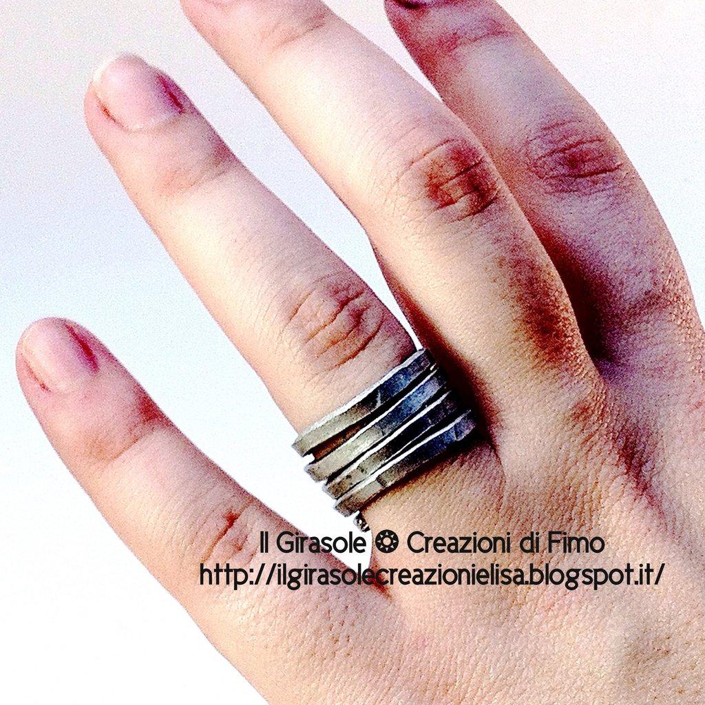 Favorito Creazioni handmade di Il Girasole ❂ Creazioni di Fimo in Anelli  TZ09