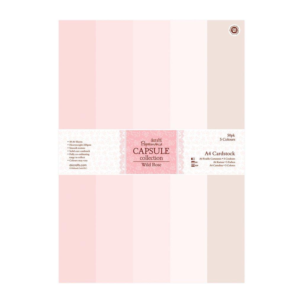 A4 Cardstock Pack - Capsule Wild Rose