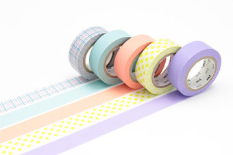 Washi Tape - Gift Box Pastel