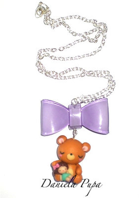 Collana Teddy Bear & Doll