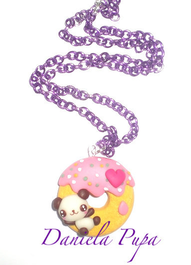 collana Panda on donut