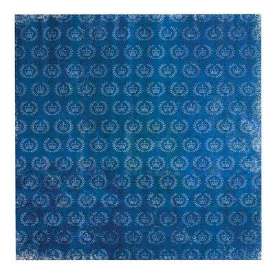 Carta 30x30 cm - Crowns Blue