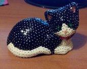 Gatto coricato personalizzabile