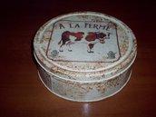 scatola di latta mucca