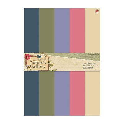 A4 Cardstock Pack - Nature's Gallery