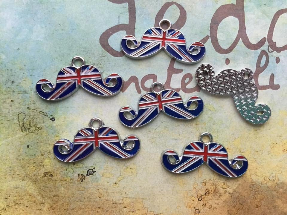 Charm Baffo bandiera UK