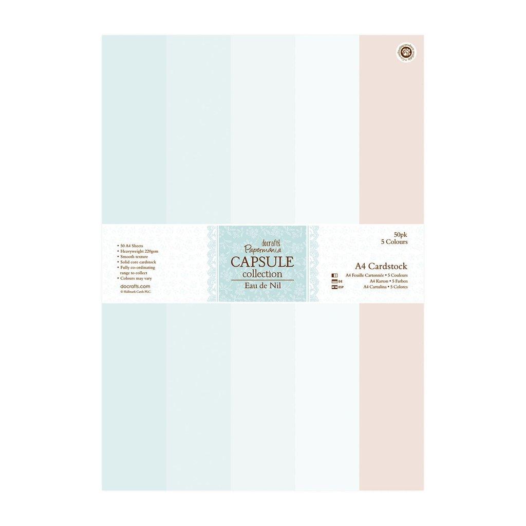 A4 Cardstock Pack - Eau De Nil