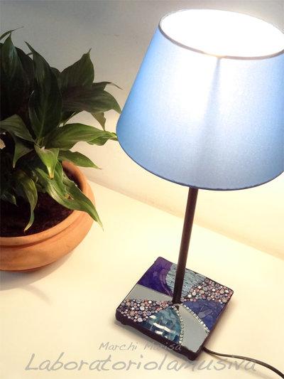 Fantasiablu Lampada da tavolo
