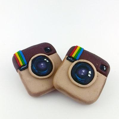spilla logo instagram per veri instagramaddicted