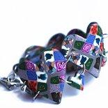 Bracciale cuori in tutti i colori, tenero e fine per complettare i tuoi look primaverili