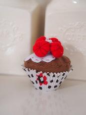 Cupcake con lamponi e glassa