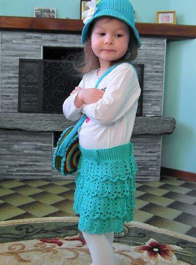 Gonna Alluncinetto Per Bimba Bambini Abbigliamento Di Lavor