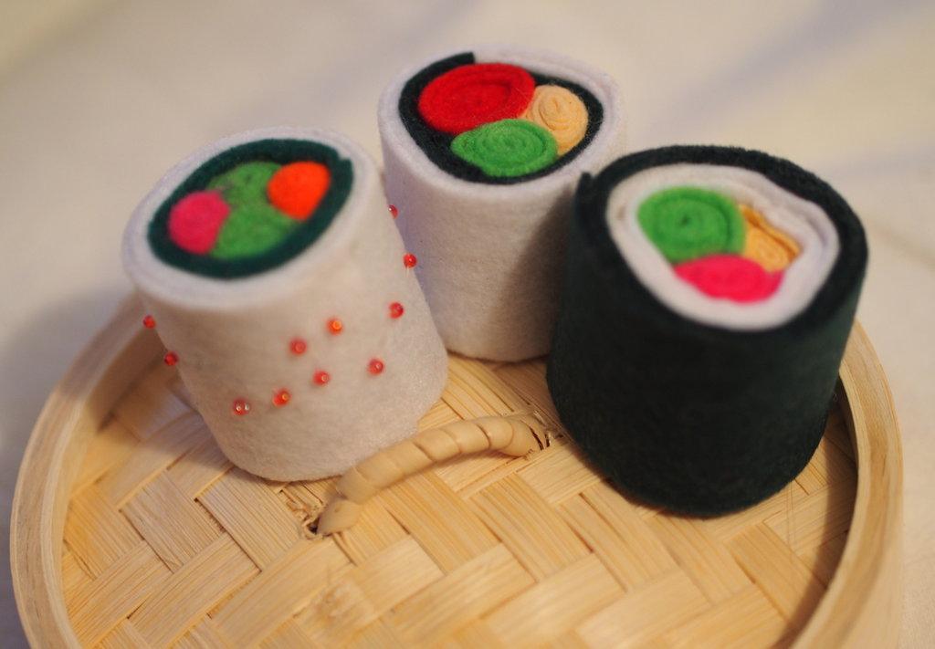 Sushi party-Oriente bianco-