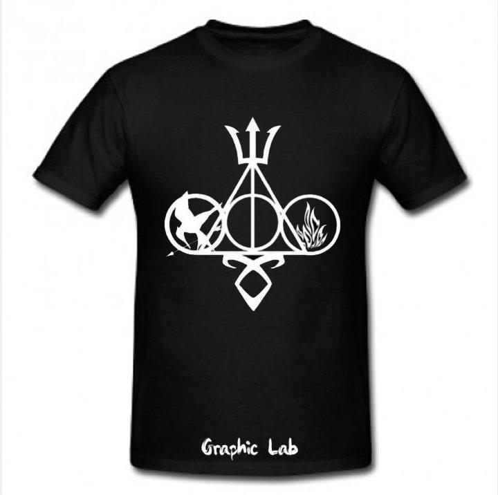 Maglietta T-shirt Multifandom