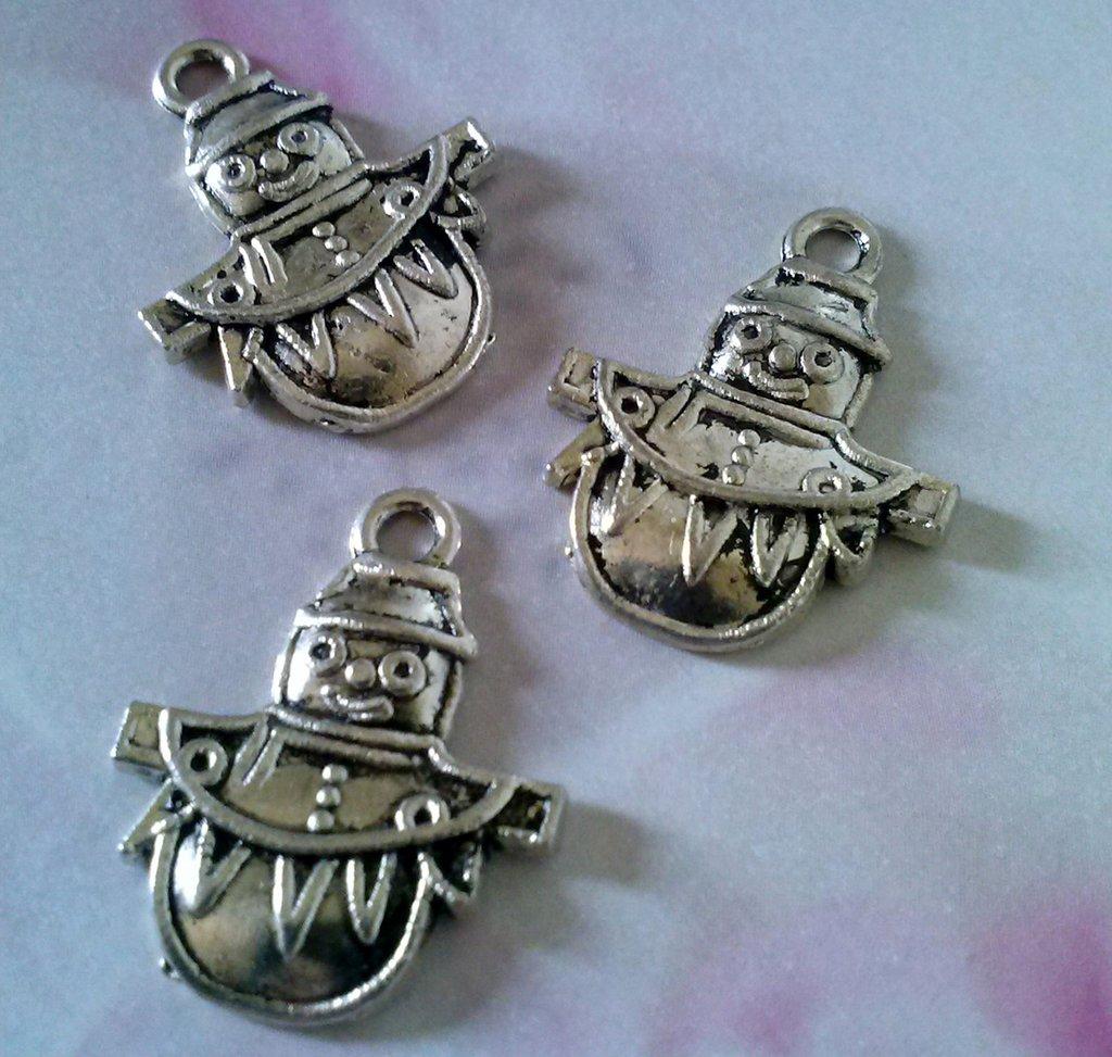 charms in argento tibetano PAGLIACCIO