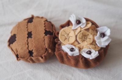 DUO:Fantasia di banana e Crostata al Cioccolato fondente