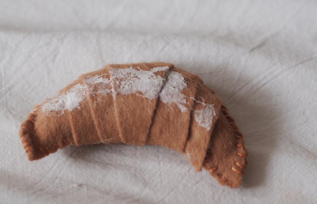 croissant semplice -zucchero