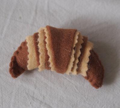 croissant crema -vaniglia