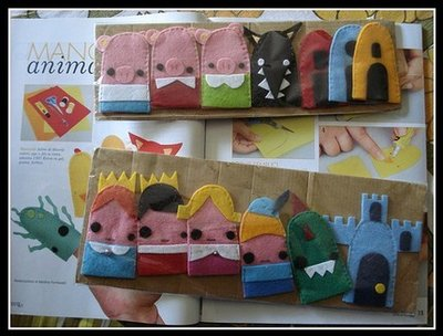 storie di marionette history of marionettes felt finger pupets