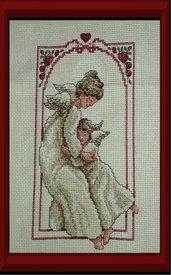 quadro con angelo custode