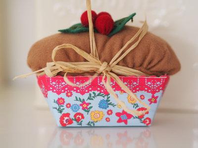 Plum cake con frutti rossi