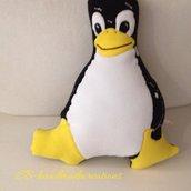 Cuscino Pinguino linux