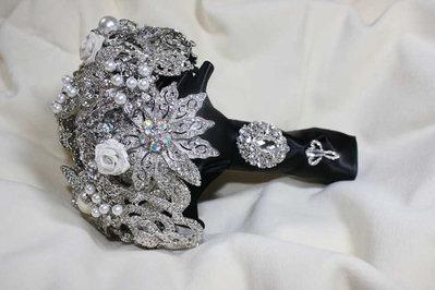 *Bouquet da sposa gioiello...Spilla bouquet*