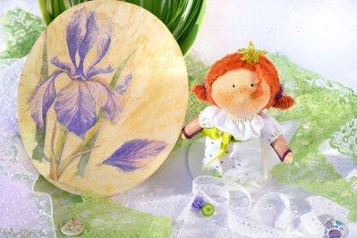 Bambola di stoffa - Principessa dei Campi di Magnolia Riservata per L-