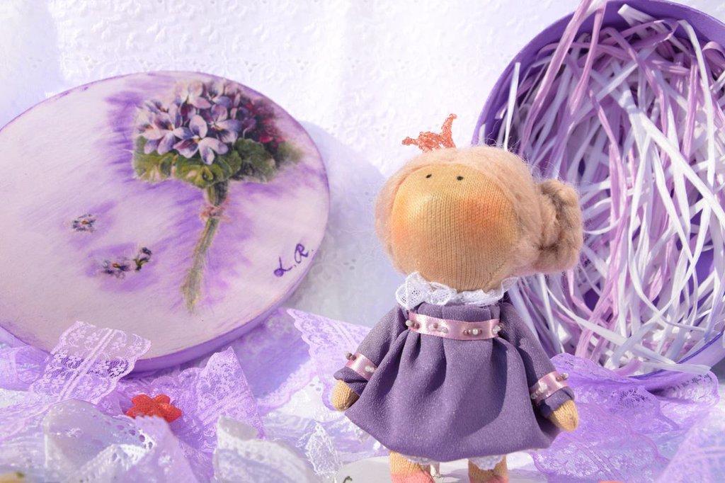 Bambola di stoffa - Principessa delle Colline di Lilla