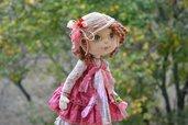Bambola fatta a mano da collezione - Piccola Italia (32 cm) Riservata per Diana