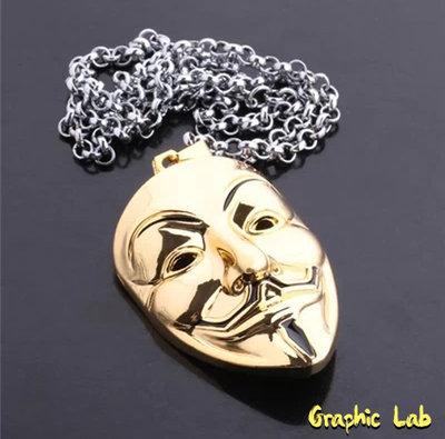 Collana Maschera V per Vendetta