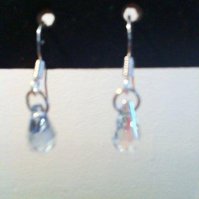 Orecchini pendenti con Cristalli di swarovski
