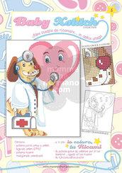 SCHEDA PUNTO CROCE PER COPERTINE CULLA E LETTINO - BABY XSTITCH COLLECTION N. 5