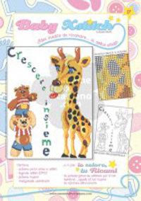 SCHEDA PUNTO CROCE PER COPERTINE CULLA E LETTINO - BABY XSTITCH COLLECTION N. 17
