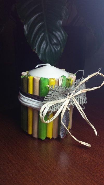 candela bastoncini profumati