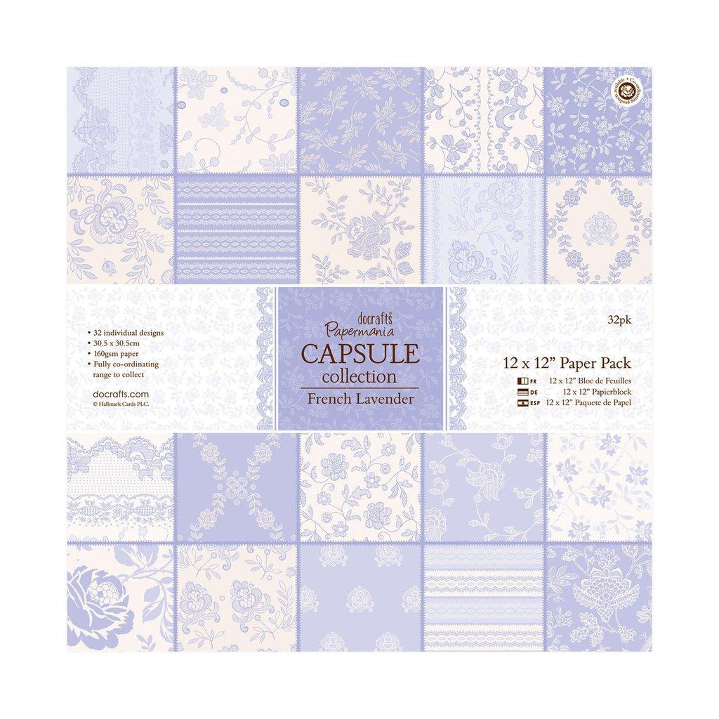 Blocco di carta 30x30 cm - Capsule French Lavender