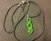 Ciondolo verde brillante!