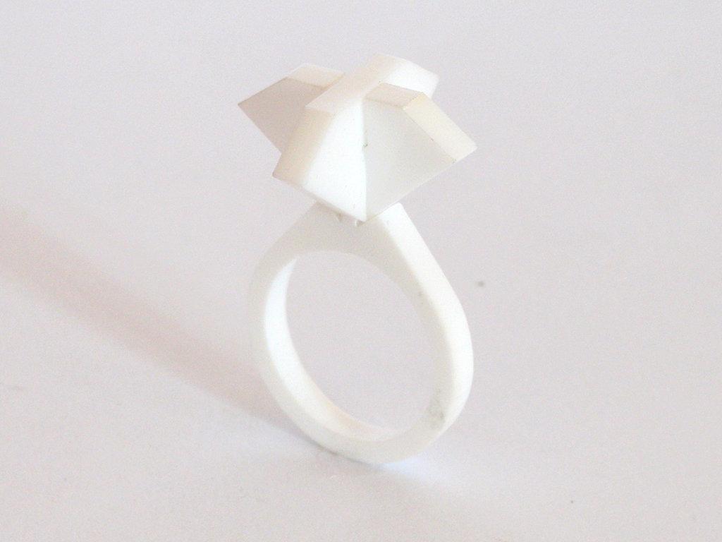 Ollo, anello solitario per sognare_versione archetipo