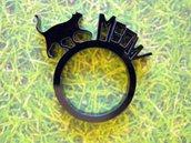 Farm, anello con animale della fattoria_versione con gatto