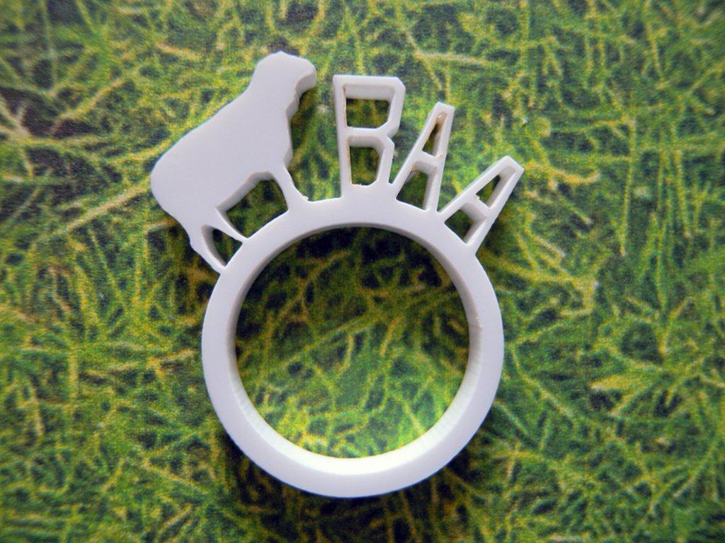 Farm, anello con animale della fattoria_versione con pecora
