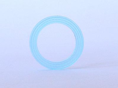 WEAF, anelli simbolici con i 4 elementi primari: acqua, terra, aria e fuoco_versione acqua