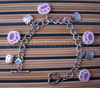 bracciale hallo kitty pink