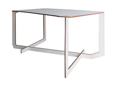 Quatre,tavolino da caffè in legno