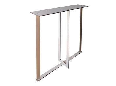 Cinq, mini consolle in legno console tavolo