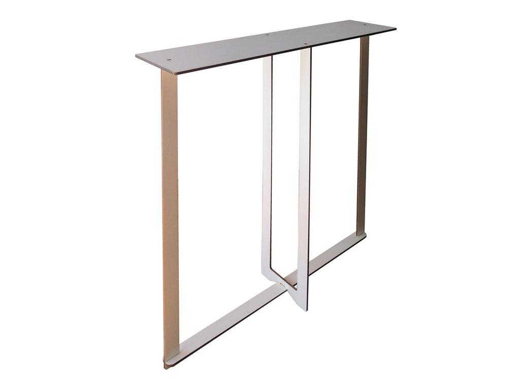 Cinq mini consolle in legno console tavolo per la casa for Consolle legno