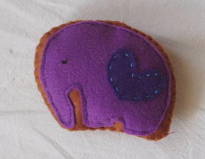 ZOO: ELEFANTE.Biscotto glassato
