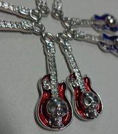 8 Ciondoli in Argento Metallo Smaltato 4 colori