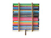Fope, portapenne, matite e pennarelli di legno per la scrivania