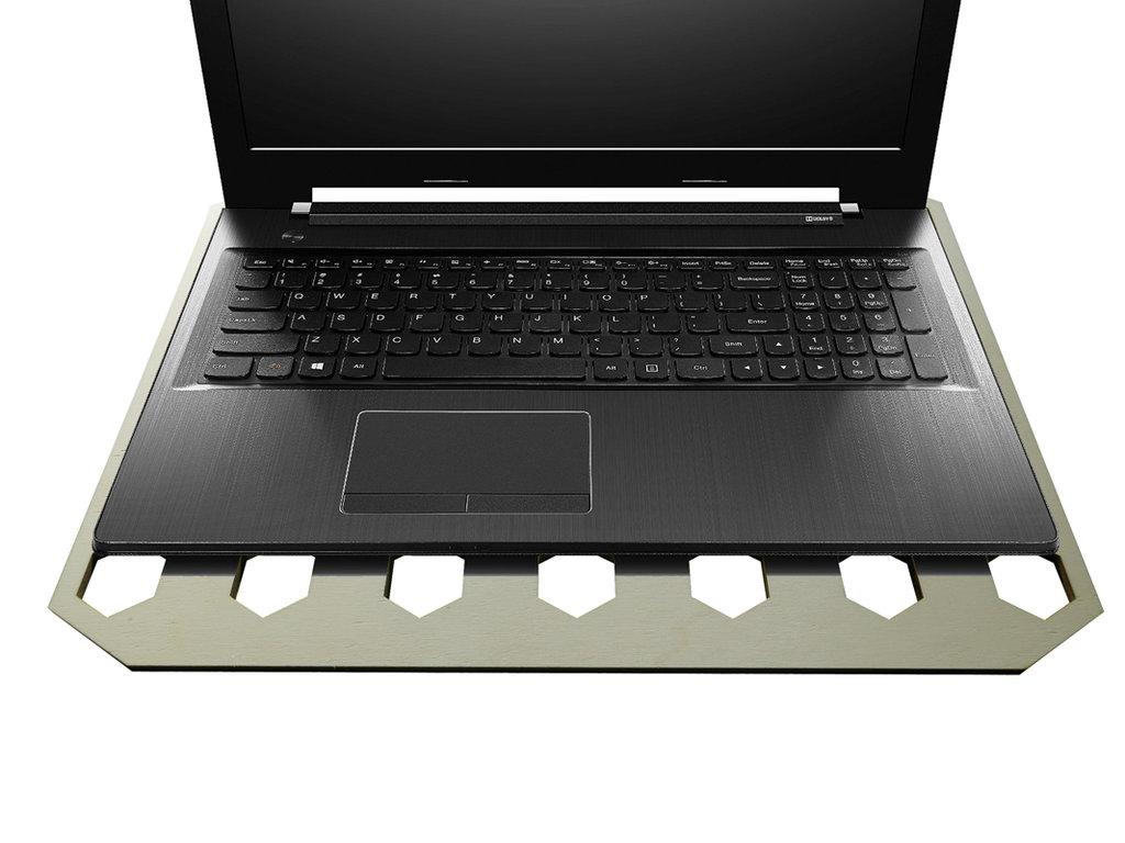 Dexar, tavola per raffreddamento computer portatile in legno